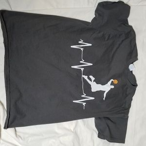 (4) Men's sports Large Tshirts